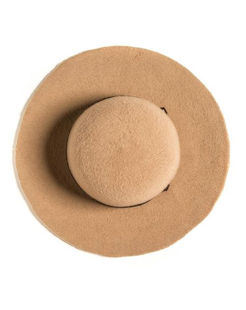 Ladies' Pure Cashmere Floppy Dunaway Hat