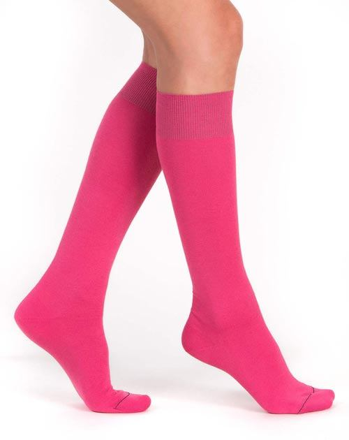 Ladies' Long Cotton Cashmere Socks