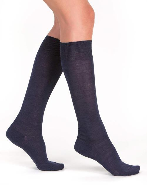 Women's Long Silk Cashmere Socks