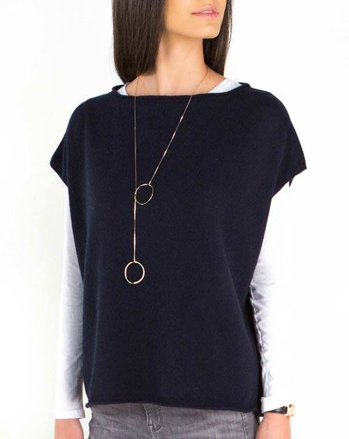 Women's Oversized Short Sleeve Sweater