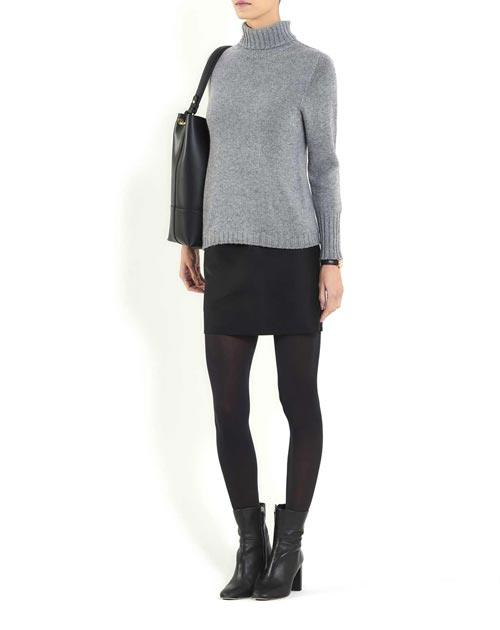 Women's Cashmere Turtleneck Sweater