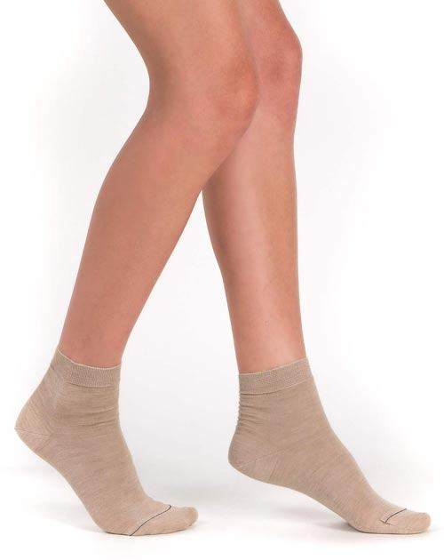 Ladies' Silk Cashmere Socks