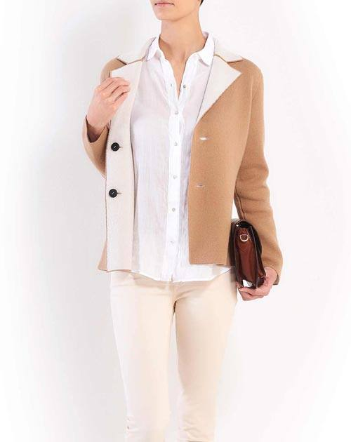 Ladies' Reversible Merino & Cashmere Blazer