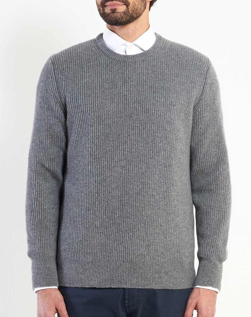 newest collection 3371e 1eb1e Maglione Cashmere Uomo Coste Inglesi | MaisonCashmere