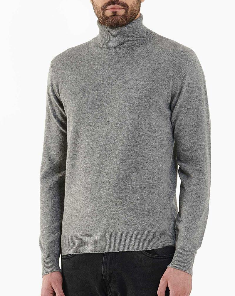 new style cebfa 05f6f Maglione Dolcevita Uomo in cashmere | MaisonCashmere