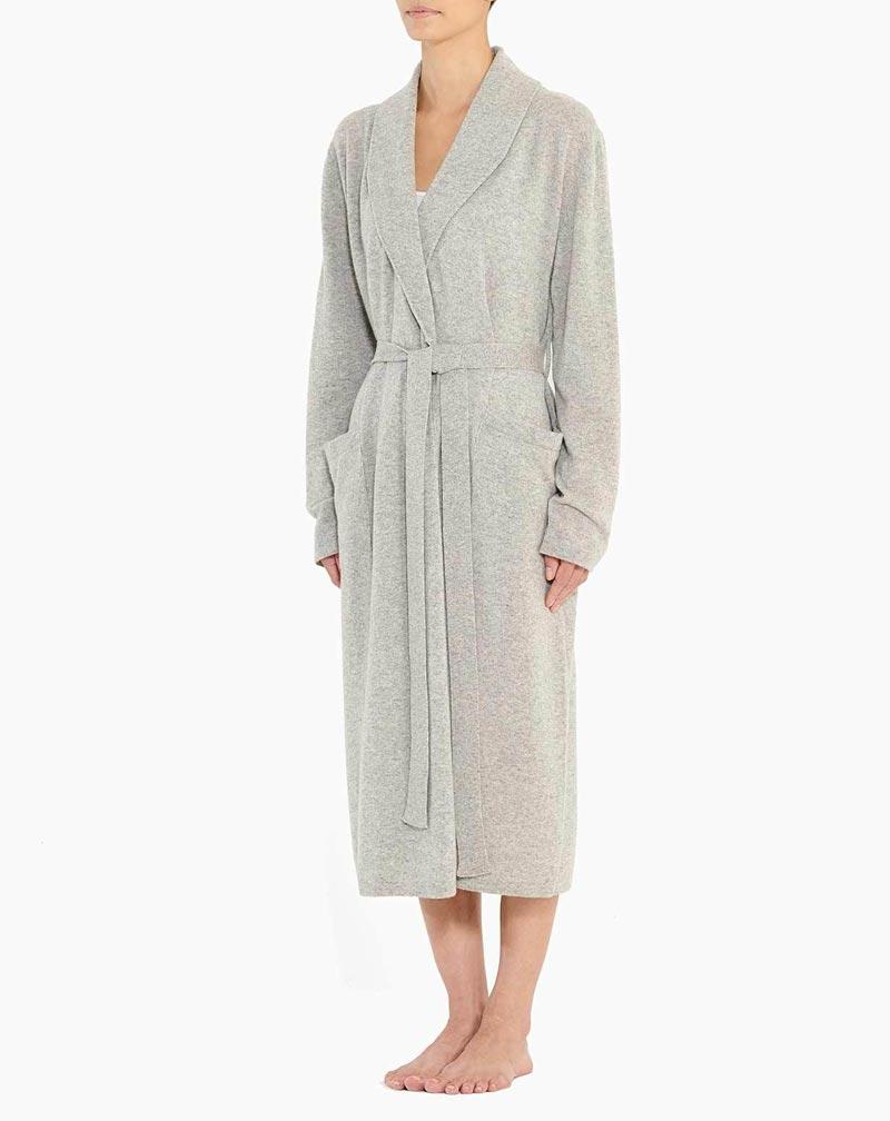 Robe De Chambre En Cachemire Femme Maisoncashmere