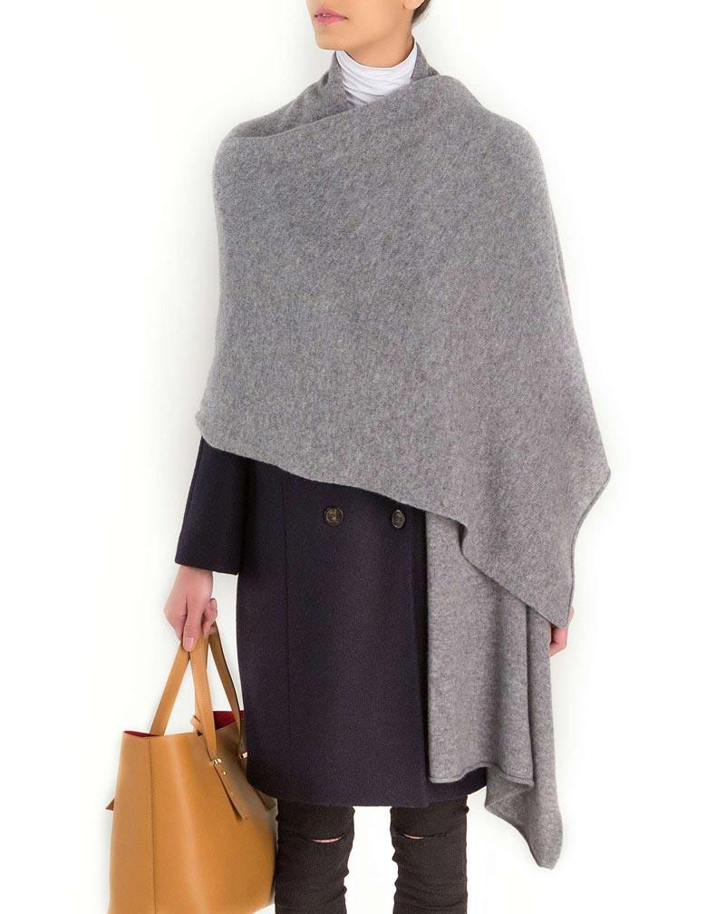 Modestil von 2019 Neuestes Design ziemlich billig Stola Schultertuch aus Reinem Kaschmir | MaisonCashmere