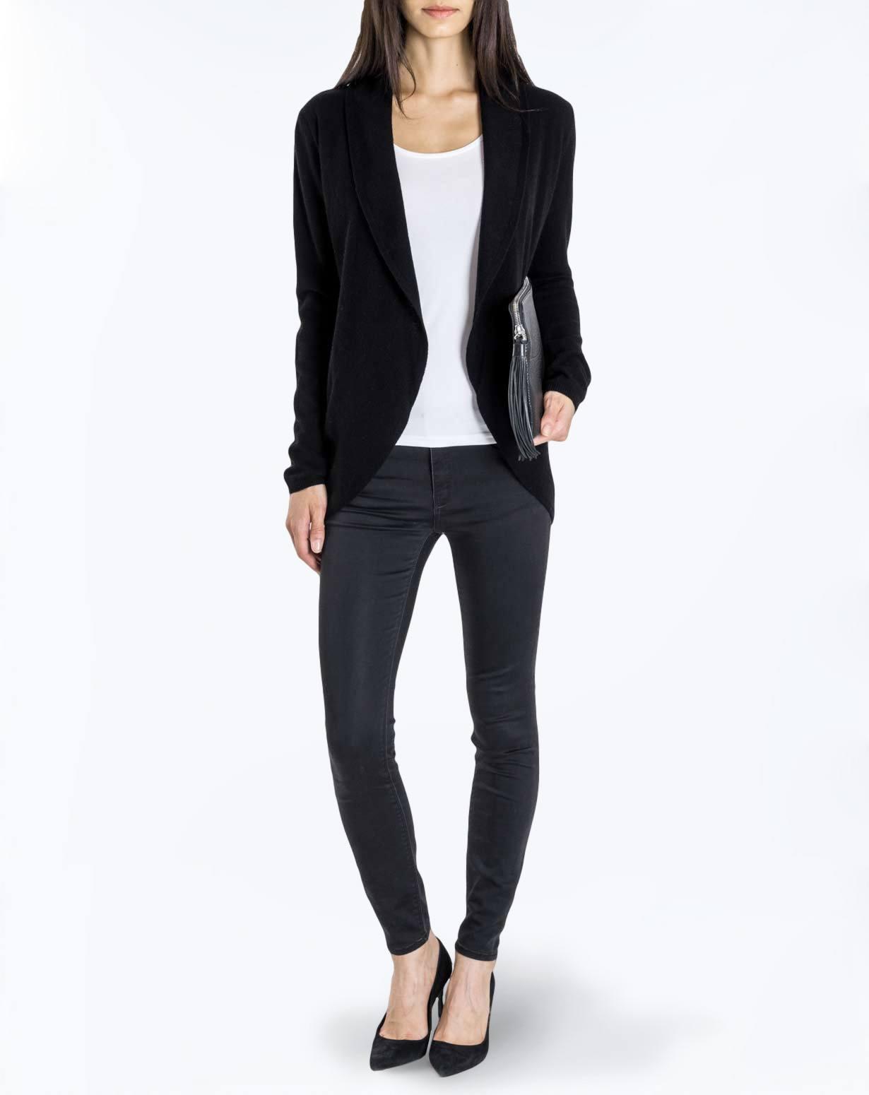 Women's Pure Cashmere Cardigan Jacket | MaisonCashmere