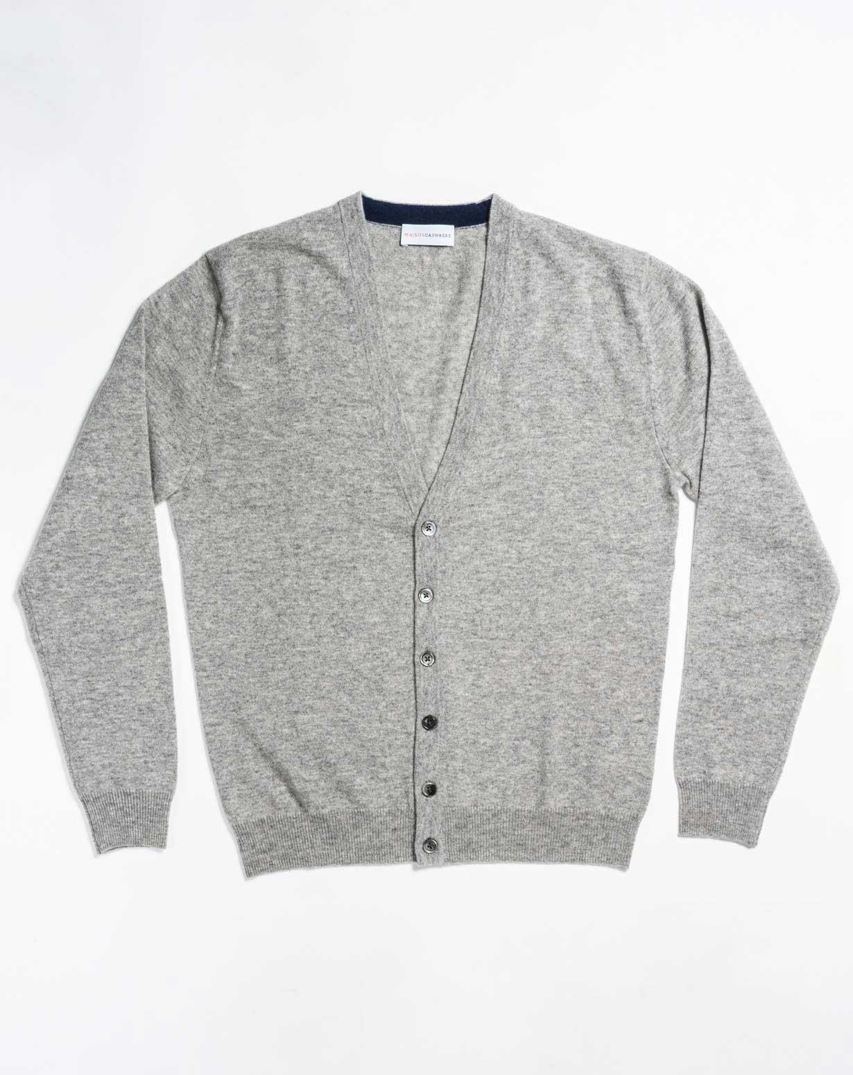 Men's Plus Size Cardigan | MaisonCashmere
