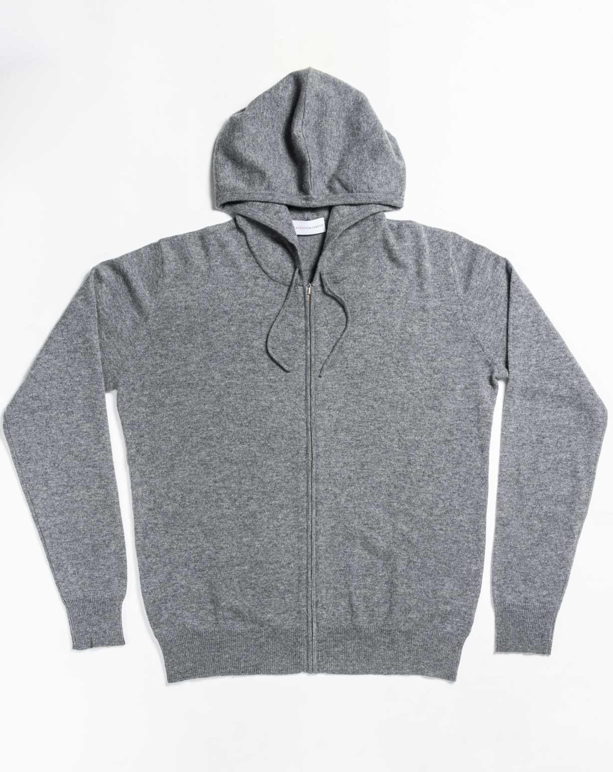 Men's Cashmere Plus Size - Hoodie