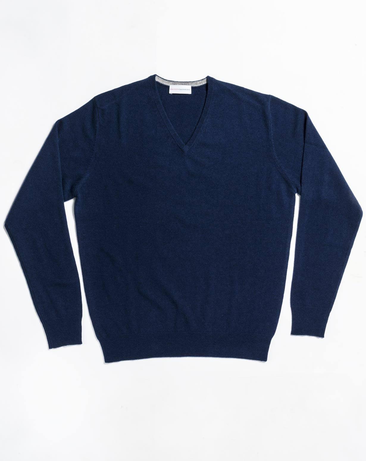 Große Größen Herren - Pullover mit V-Ausschnitt