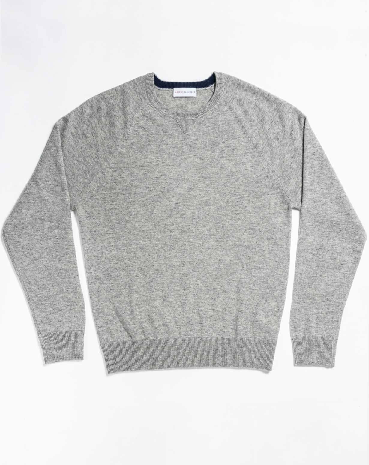 Men's Cashmere Plus Size - Sweatshirt