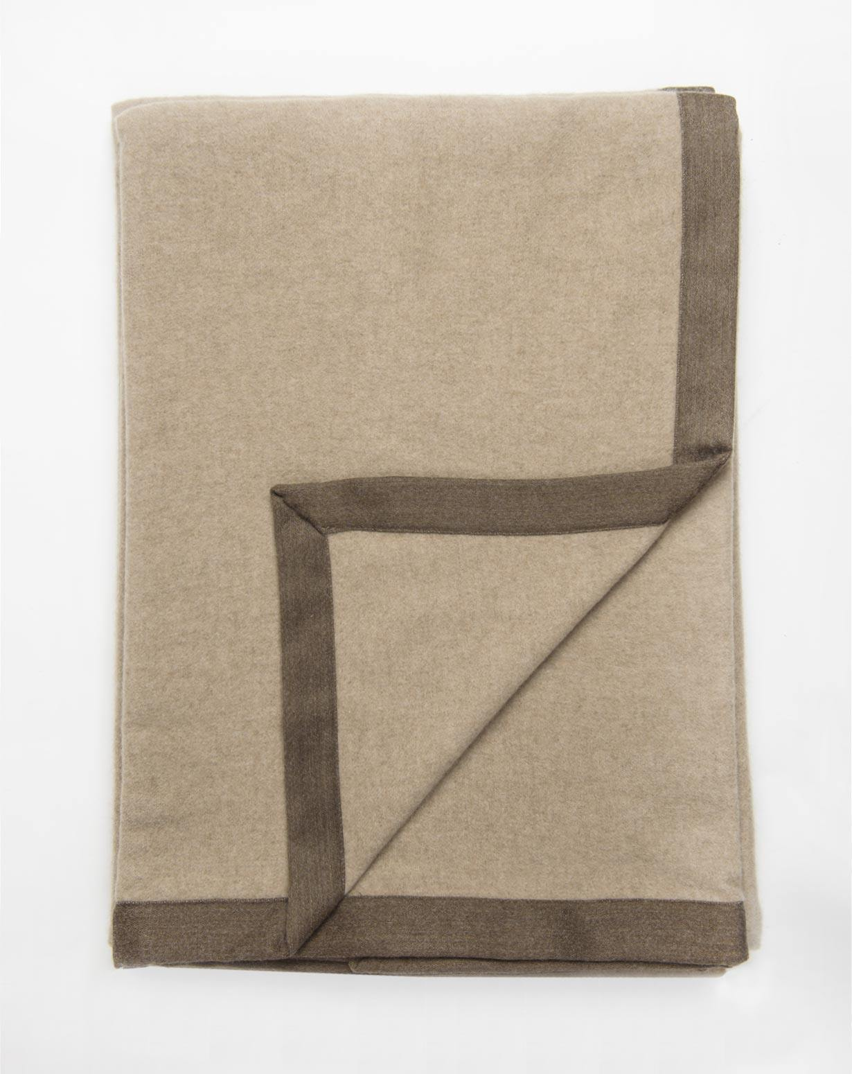 Pure Cashmere Bed Throw