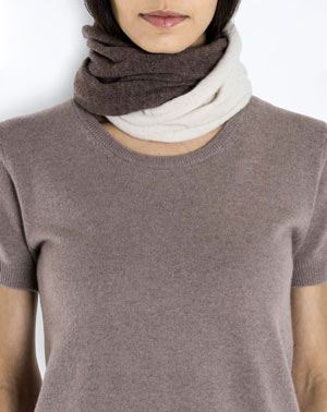 Ladies' Pure Cashmere Twist Snood