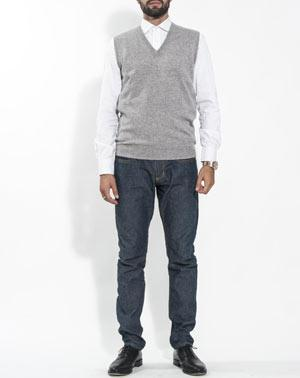Men's Pure Cashmere Sweater Vest