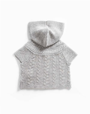 Baby's Pure Cashmere Hooded Cardigan