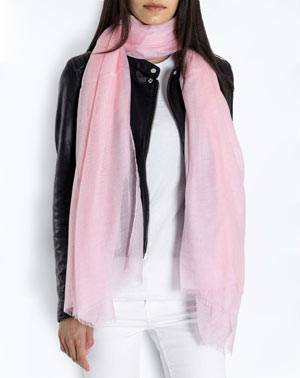 Cashmere Blend Pashmina - Pink