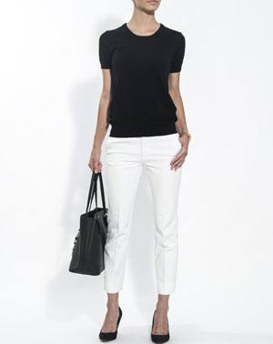Ladies' Pure Cashmere T-Shirt