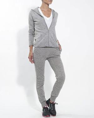 Set WeekEnd Donna - Felpa con Cappuccio e Pantalone