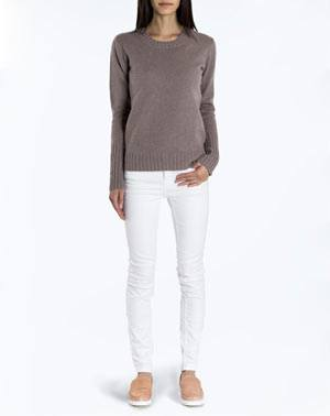 Ladies' Pure Cashmere Crew Neck Jumper