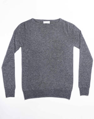 Women's Custom Knits - Cashmere Boat Neck