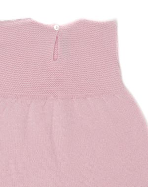 Cashmere Links Stitch Baby Dress