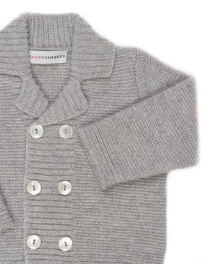 Kaschmir Baby-Jacke für Jungen