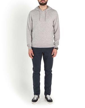 Men's Pure Cashmere Hoodie Sweatshirt