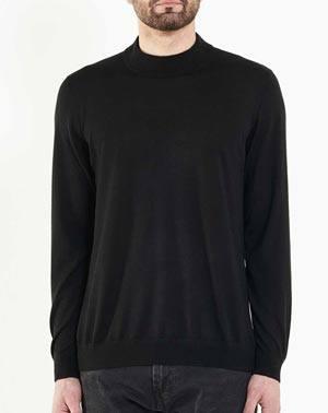 on sale 94f0d 5ad18 Maglia Uomo Collo Montante Cashmere Seta Extra-Fine