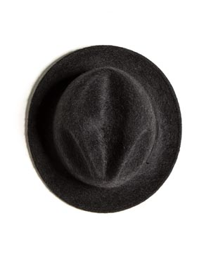 Men's Pure Cashmere Trilby Hat