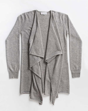 Women's Cashmere Plus Size - Waterfall Cardigan