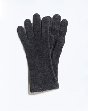 Ladies' Pure Cashmere Knit Gloves
