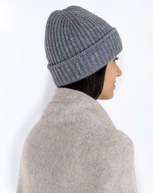 more photos e74db b1e16 Cappello a Coste Inglesi in Puro Cashmere