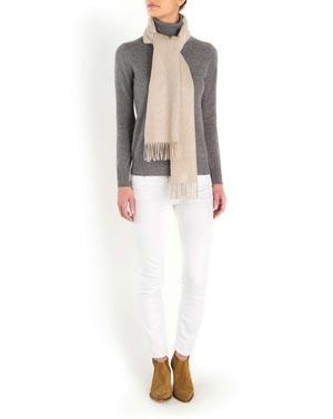 Ladies' Woven Cashmere Scarf