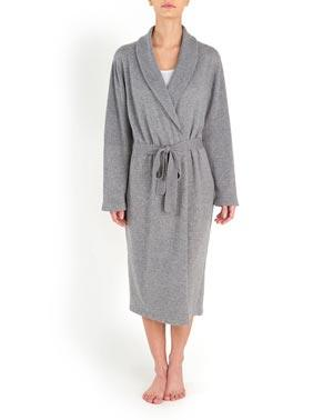 Women's' Pure Cashmere Knit Robe