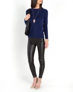 Damen Pullover, runder Halsausschnitt Raglan 100% Cashmere