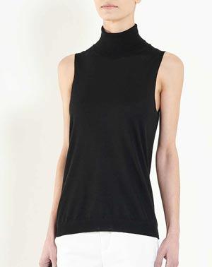 online store 0391d 1df79 Dolcevita Donna Senza Maniche Cashmere Seta Extra-Fine