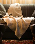 Pure Cashmere Double Knit Blanket
