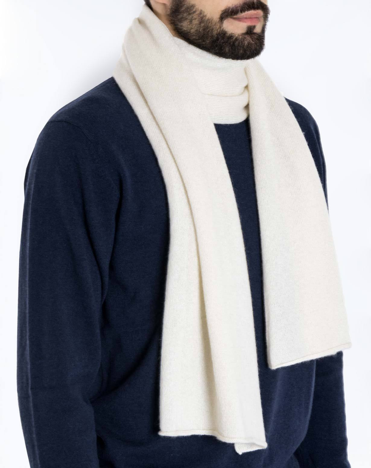 Langer Schal aus 100% Cashmere