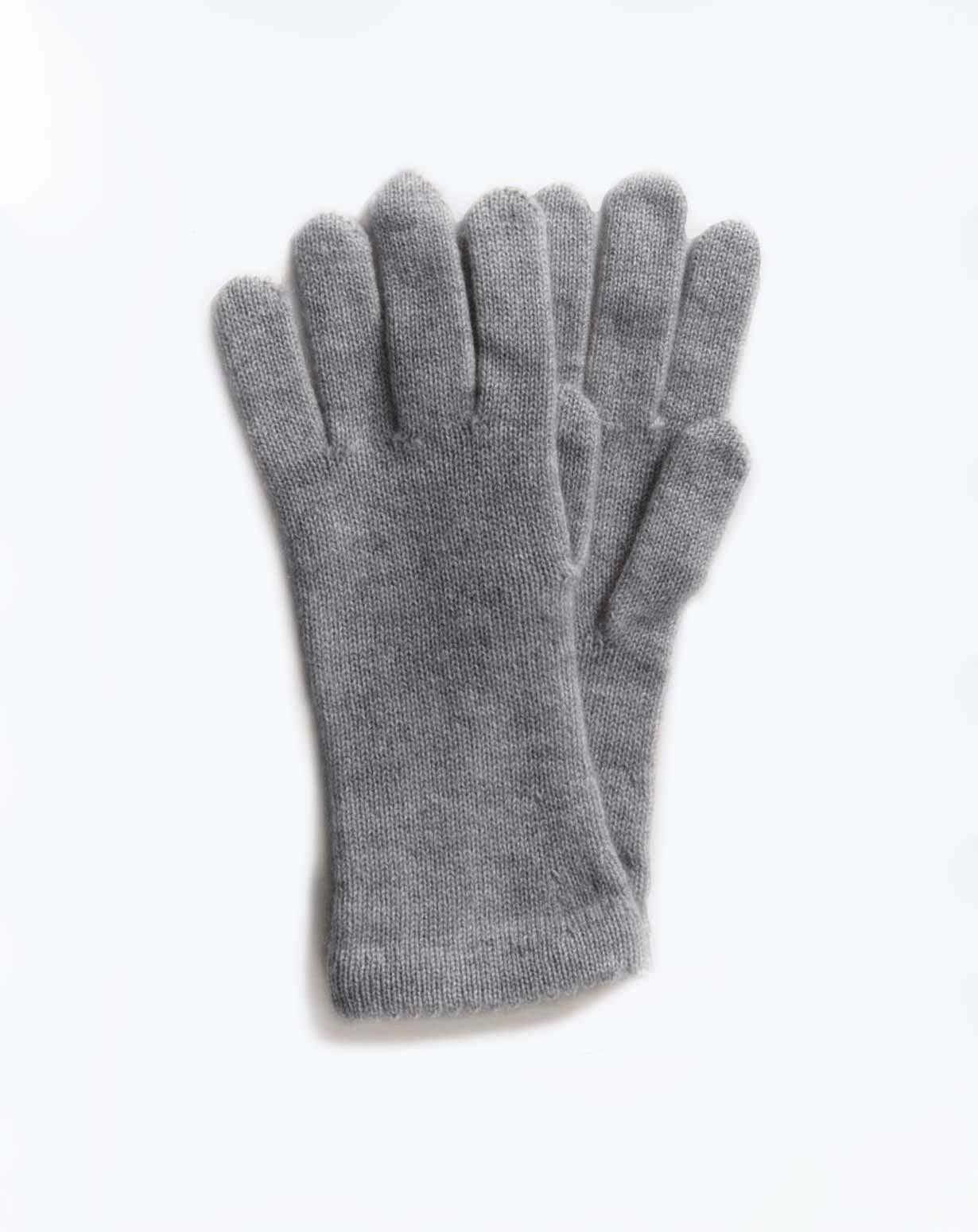 Womens Pure Cashmere Knit Gloves MaisonCashmere