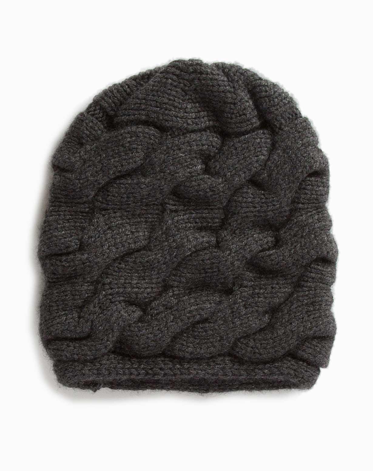 Women s Chunky Braided Cable Knit Beanie  13efa3d51b3