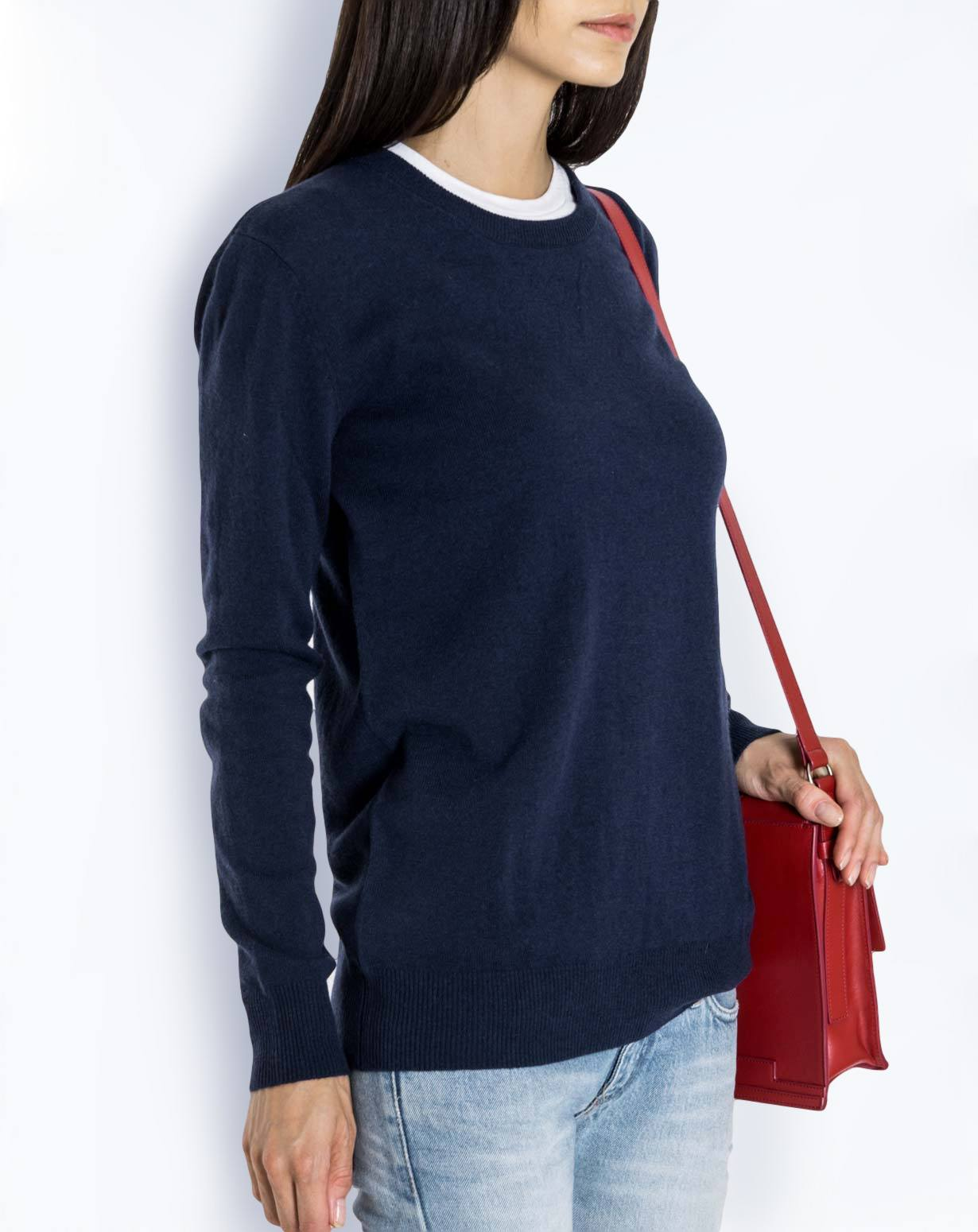 Women's Pure Cashmere Boyfriend Sweater