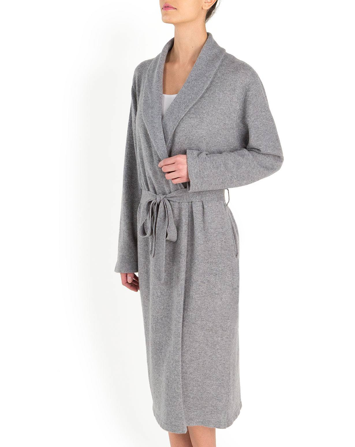 Ladies' Pure Cashmere Knit Robe