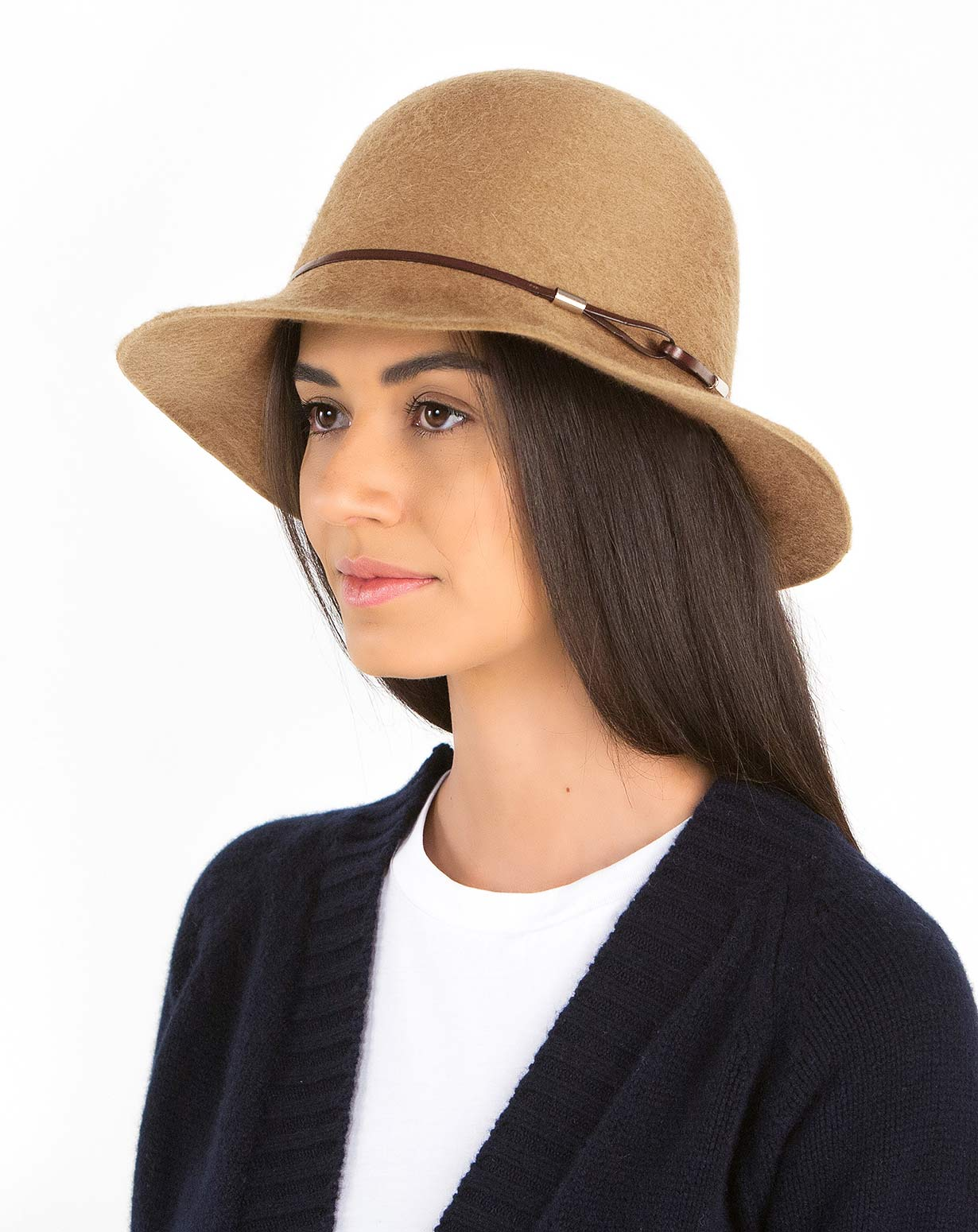 Women's Pure Cashmere Cloche Hat
