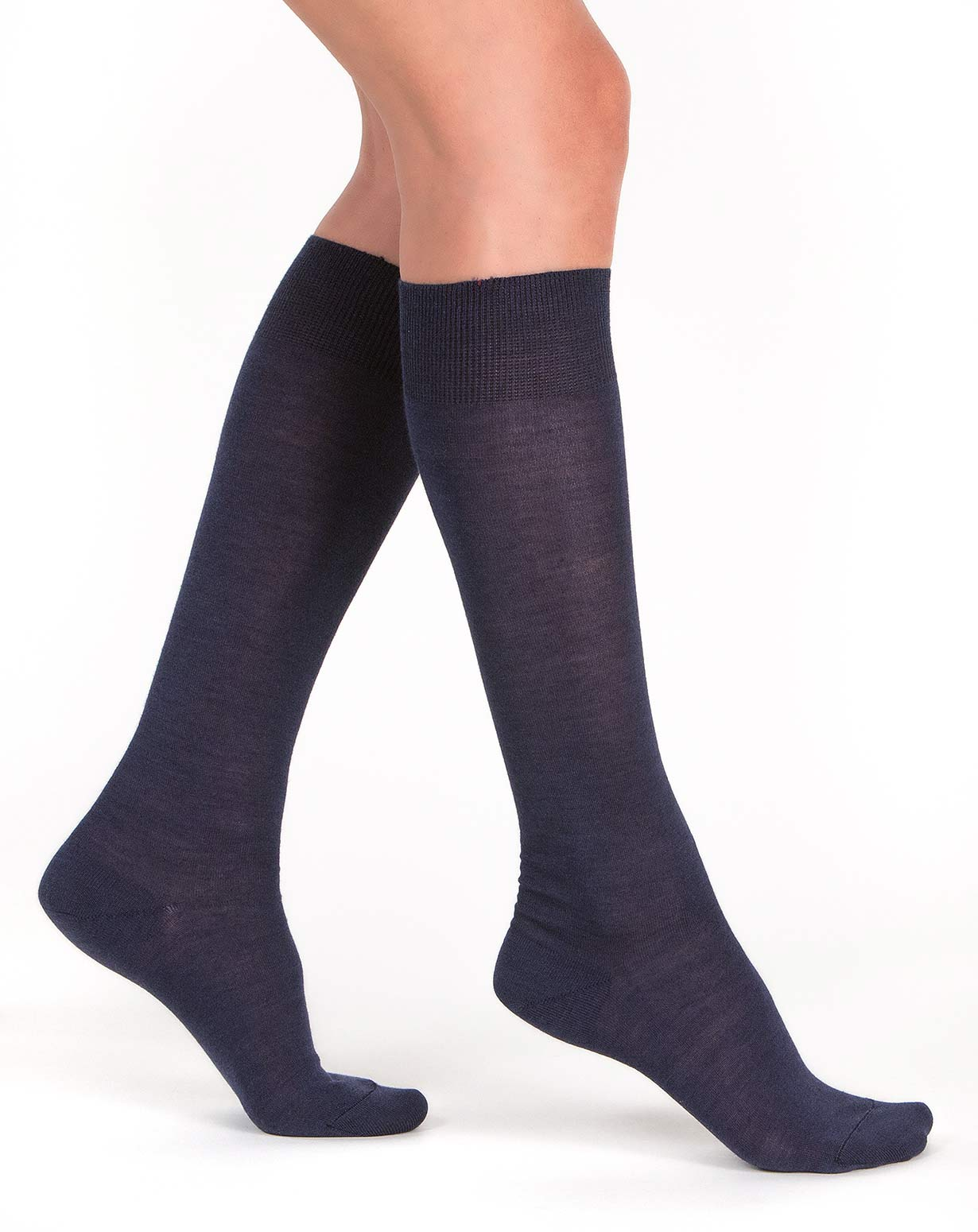Ladies' Long Silk Cashmere Socks