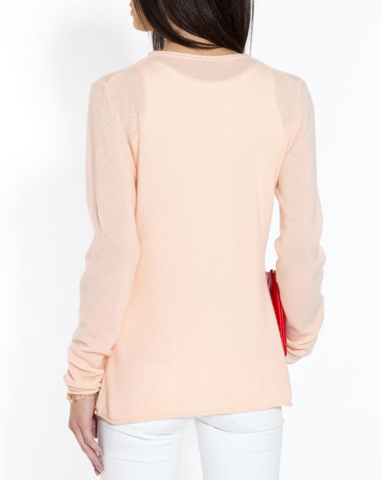 Oversized Cashmere V Neck Sweater | MaisonCashmere