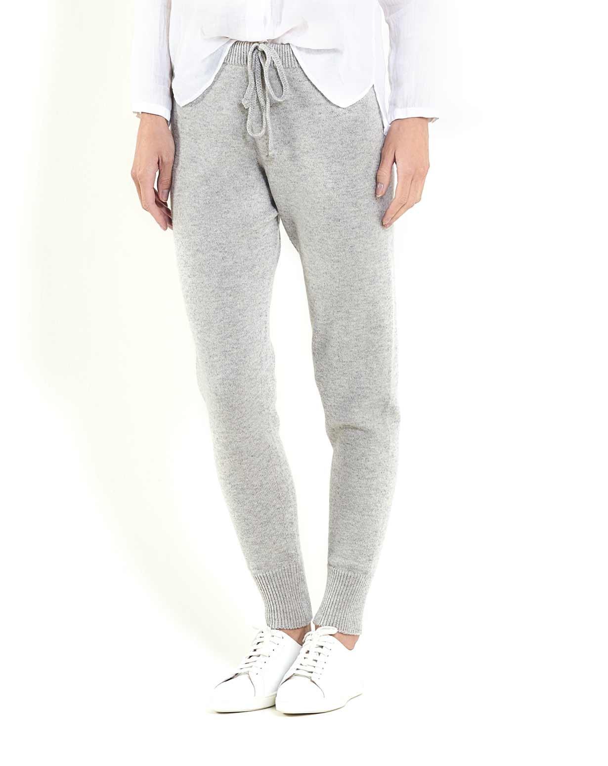 Ladies' Pure Cashmere Jogging Trousers