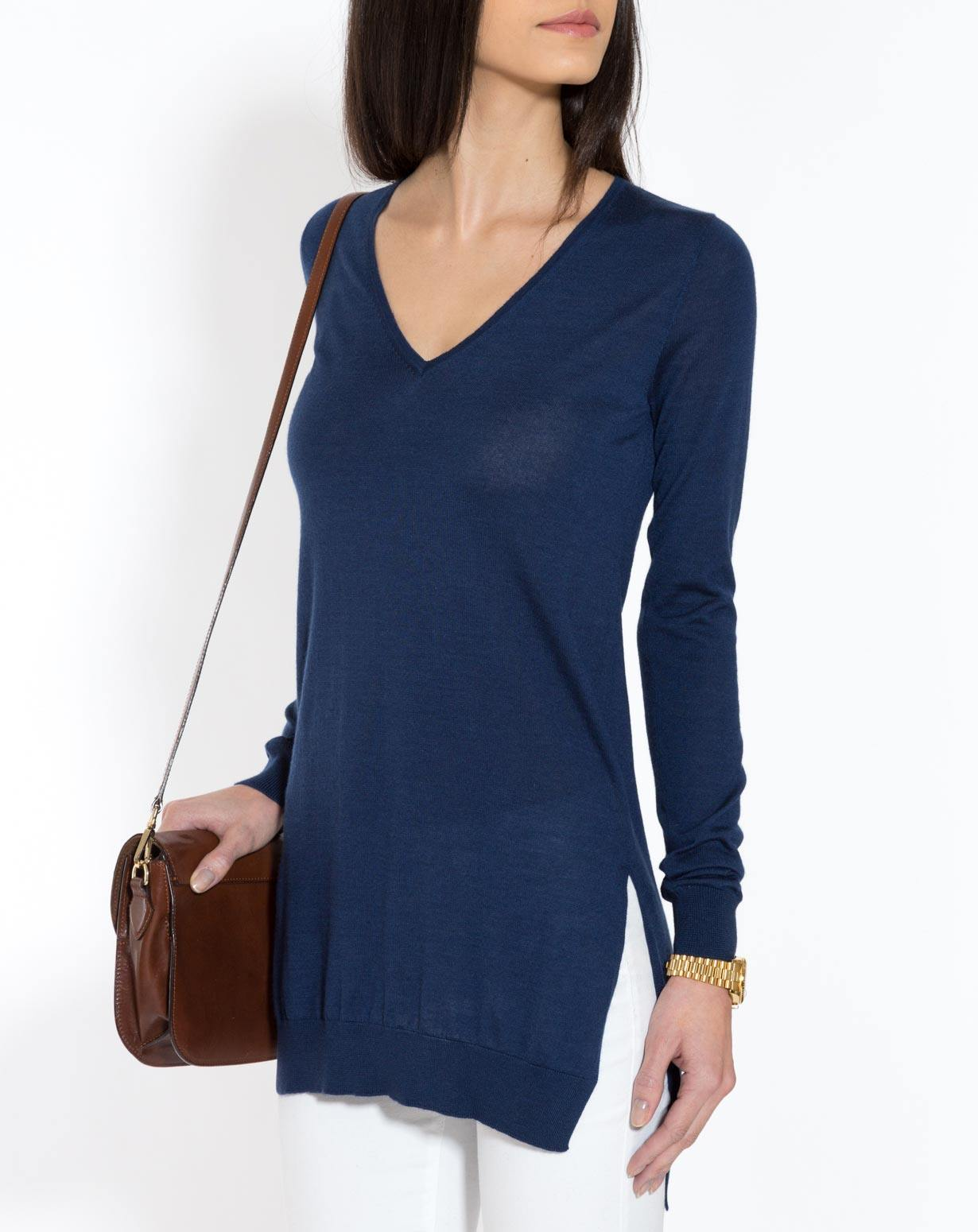 Silk Cashmere Tunic Dress