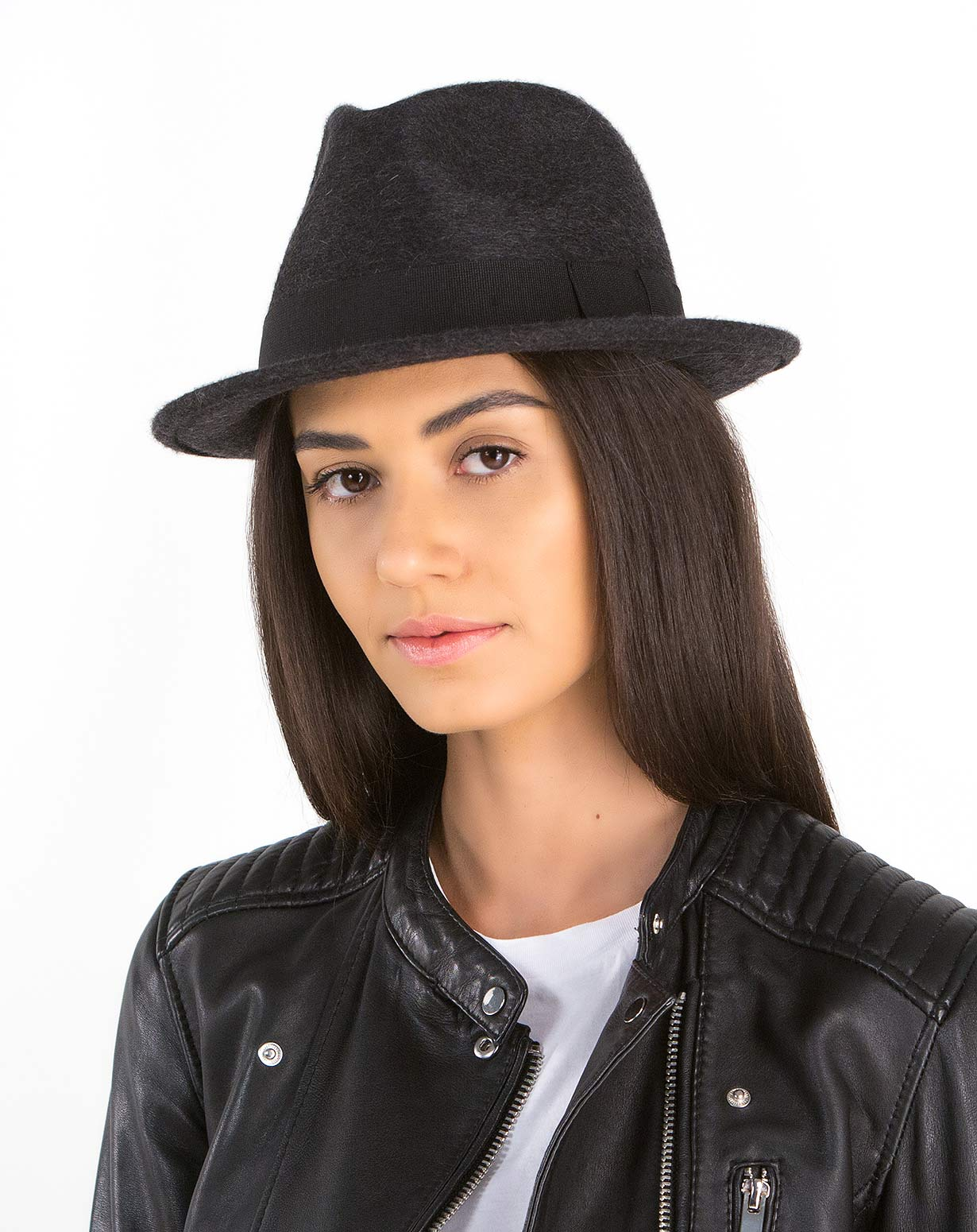 Ladies' Pure Cashmere Trilby Hat