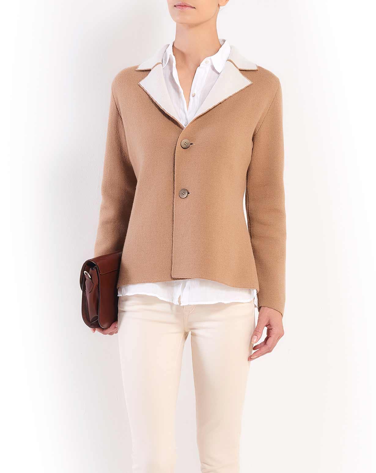 Women's' Reversible Merino & Cashmere Blazer